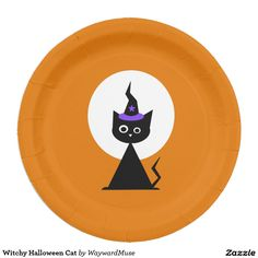 Witchy Halloween Cat