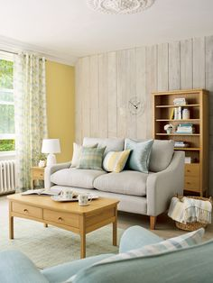 Find sophisticated detail in every Laura Ashley collection - home furnishings, children's room decor, and women, girls & men's fashion. Beautiful Living Rooms, Cozy Living Rooms, Living Room Decor, Blue Lounge, Duck Egg Blue Living Room, Classic Living Room, Childrens Room Decor, Laura Ashley, Decoration