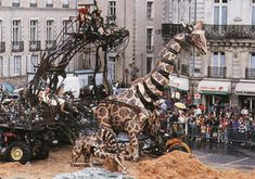 royal de luxe nantes 1990   Nantes-Les machines etc.....