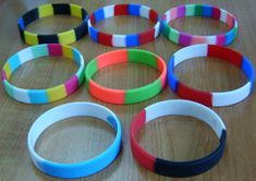 Get Custom Rubber Bracelet Online From Makeyourwristbands We Helps You Spend Less Money
