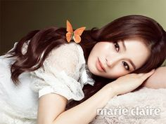 Kim Tae Hee Rain Bi Marie Claire Magazine January Issue 2013