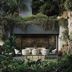 Ideas Black House Exterior Luxury For 2020 Biophilic Architecture, Green Architecture, Amazing Architecture, Landscape Architecture, Landscape Design, Architecture Design, Architecture Company, Concrete Architecture, Creative Architecture