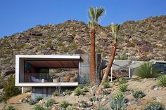 On The Rocks, Palm Springs designed by Schmidt Architecture Light Architecture, Architecture Design, Desert Homes, Next At Home, Midcentury Modern, Palm Springs, The Rock, Exterior, Villa