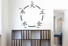 Chinese Five Elements Wall Sticker. The five basic forms of energy that determine our entire psychological, emotional and physical balance have been depicted in an interesting manner in this wall art. Each element is represents a certain set of characteristics. Find out which element signifies your personality. http://walliv.com/chinese-five-elements-wall-sticker-art-decal