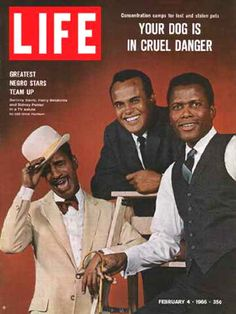Sammy Davis Jr, Harry Belafonte and Sidney Poitier On The Cover Of Life Magazine in Jet Magazine, Black Magazine, Life Magazine, Magazine Photos, People Magazine, Magazine Art, Ebony Magazine Cover, Magazine Covers, Beatles