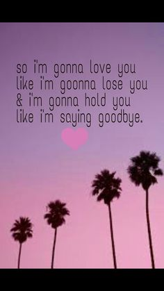 "From the song ""like i'm gonna lose you"" by meghan trainor. ❤"