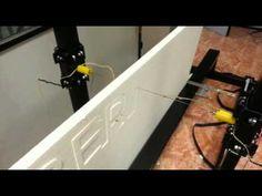 maquinas corte cnc porexpan - videos