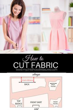 How to cut fabric for sewing