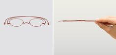 Paperglass: A Simple, Brilliant Design Innovation Enables Flat-Folding Eyeglasses - Core77
