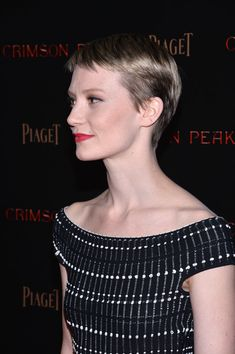 Mia Wasikowska Photos - 'Crimson Peak' New York Premiere - Zimbio