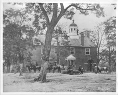 Fairfax Courthouse, June 1863. Author(s): O'Sullivan, Timothy. http://hdl.handle.net/1920/6425