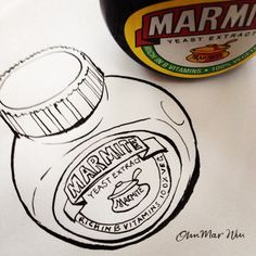 Marmite, Brand Packaging, Inktober, Hate, British, Sketch, Teacher, Diy Crafts, My Love