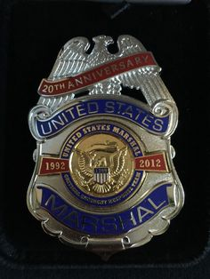 US Marshal Anniversary Badge, Critical Incident Response Team Police Badges, Police Uniforms, Military Officer, Military Service, Fire Badge, Us Marshals, Law Enforcement Badges, Wolf Illustration, Police Patches