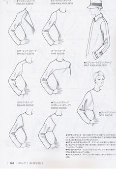 Guid to Fashion Design -sleeves- by Bunka fashion college (Japan) - Tipsographic
