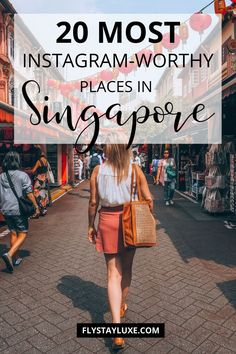 The best photography spots in Singapore - Gardens by the Bay, Marina Bay Sands, Sentosa Island, the Merlion and more. #Singapore #Asiatravel | Singapore travel guide | what to do in Singapore | Singapore stopover | top things to do in Singapore | best things to do in Singapore | beautiful Singapore photography | Singapore travel tips | Singapore bucket list | Singapore instagram worthy spots #Instagram