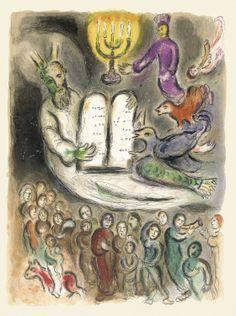 Marc Chagall . Exodus, ID 208 - Galerie Fetzer