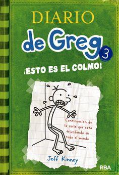 Solo yo: #QueEstasLeyendo.- Diario de Greg 3: ¡Esto es el c...