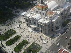 Palacio de Bellas Artes, Mexico city, 2015