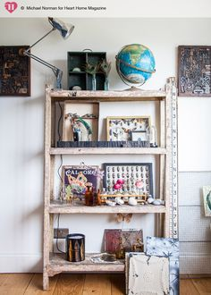 We catch up with Sarah Wilkie who, alongside sister-in-law Sally, runs destination vintage interiors store, HomeBarn in Little Marlow, Buckinghamshire. She gives us the low down on swapping London life for the countryside idyll. Sarah and her family moved in to their current house, a tradit