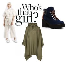 """The new recruit"" by rain-wave on Polyvore featuring rainyday, raincoat and rainponcho"