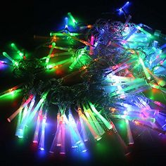 Multi-Color Colorful Linkable Led String Lights For Holiday Christmas Party Decoration (10M, 100LED) - фото 8