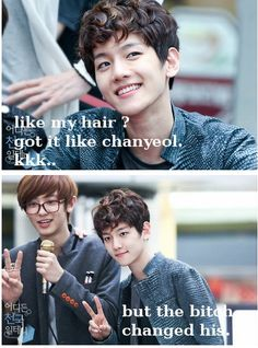 BaekYeol // Let's show EXO that we'll follow and love them into 2015!! #CheerUpEXO