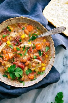 crock pot veggie soup