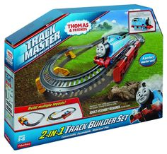 Fisher-Price Thomas The Train - TrackMaster 2-in-1 Track Builder Set