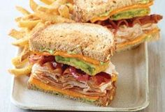 Join me at Applebee's for Fried Green Tomato   Turkey Club. Shaved turkey breast on toasted 9-grain bread with melted cheese, basil pesto mayo, bacon and fried green tomatoes.