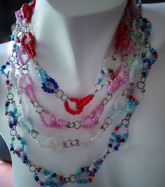 Late summer colorful, multi-layered, multi-strand seed beads necklace #colorfulnecklace #beachnecklace #bohonecklace #multicolorednecklace #multisrtandnecklace #multilayerednecklace #lanesamarie #etsyseller #etsyfinds # etsyshop #beachnecklace #seedbeadnecklace #fashionjewelry #womenaccessories