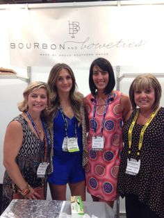CEO of Mainstream Boutique, Marie DeNicola and some of our Franchise owners with Carley the founder of Bourbon and Bowties! We are excited to debut these one of a kind, handmade bracelets with semi precious stones, agates, coins, druzy's, pearls, shotgun shells, and more!