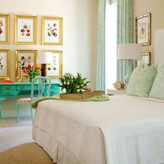 Country living magazine mint room