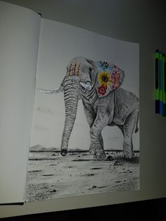 Elephant by billypower_Art