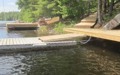 Dock Ideas, My House, Boats, Pin Up, Cottage, Summer, Outdoor, Outdoors, Summer Time