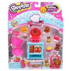 Shopkins™ Chef Club Theme Pack - Waffle Collection