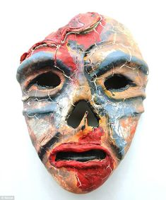 The agonizing face of war: Soldiers with PTSD make disturbing masks to express their feelings of horror and frustration
