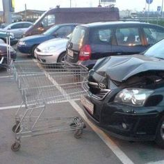 The RUDEST shopping cart ditches of all time. A feature from the RETALE blog. These shopping carts should have been returned! See for yourself! Hilarious.