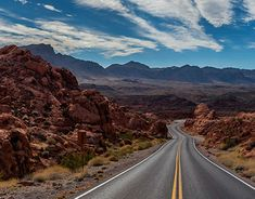 On the Road. Valley Of Fire, New Work, Country Roads, Behance, Gallery, Check, Pictures, Light And Shadow, World