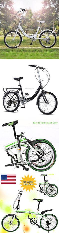 Bicycles 177831: Folding Bike 20 Shimano 7 Speed Bike Fold Storage College School Sports Er99#Us -> BUY IT NOW ONLY: $103.99 on eBay!
