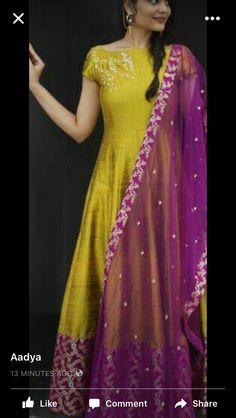 Elegance and modesty in one style Indian Designer Outfits, Designer Dresses, Long Dress Design, Indian Gowns, Indian Wear, Long Gown Dress, Dress Indian Style, Anarkali Dress, Party Wear Dresses