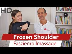 Frozen Shoulder, Schulterschmerzen, Schultergelenkschmerzen // Faszienrolle - YouTube Fitness Gym, Frozen Shoulder, Sports, Youtube, Healthy, Physical Therapy, Men, Training Plan, Health And Beauty