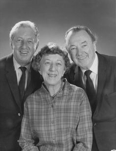 Ray Bolger, Margaret Hamilton & Jack Haley...the scarecrow, the witch, & the tinman, missing is Bert Lahr, the lion.
