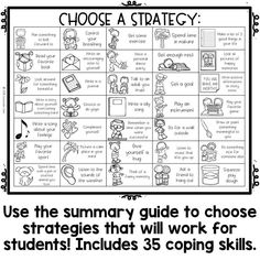 Coping Skills Color by Code Calming Strategies Activity for School Counseling is part of Coping skills activities coping skills handout This set is nonseasonal and can be used year round! Kids Coping Skills, Coping Skills Activities, Counseling Activities, Therapy Activities, Communication Activities, Social Work Activities, Anxiety Coping Skills, Communication Boards, Behavior Interventions