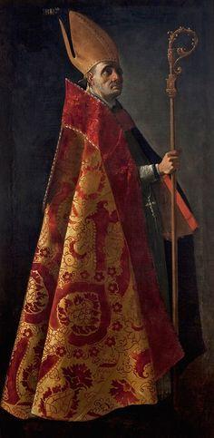 Francisco de Zurbarán. San Blas, c. 1633-1635