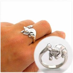 playing cat ring