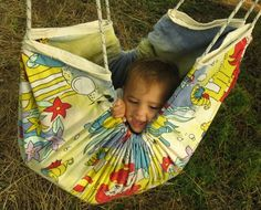 A baby hammock for daytime nap. It can be also converted into a swing for older kids! I love it!