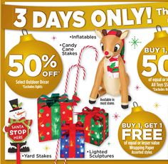 Dollar General Ad 3 Day Sale November 21st thru November 23rd!
