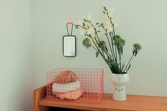 DIY - neon wire basket from chicken wire and a little spray...definitely trying this!