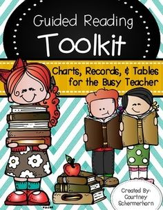 This bundle has EVERYTHING you need to quickly and accurately assess your students during guided reading!  Stay organized and on top of your guided reading groups with these materials and the helpful hints I've included in the bundle!  Everything will be right at your fingertips so that your mini-lessons runs smoothly, and your students get the most out of their time with you!