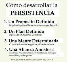 La persistencia